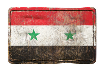 Old Syria flag