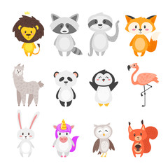 cartoon cute animals