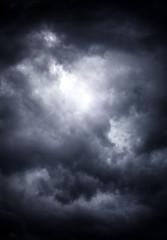 Keuken foto achterwand Hemel Storm Clouds Background