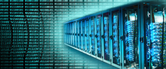 Server Racks und Binärzahlen