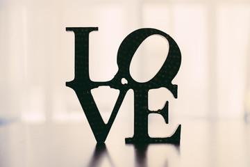 Love word Decor