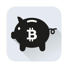 Bitcoin Sparschwein