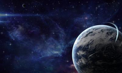 планета в космосе