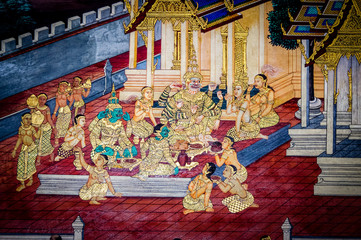 Thailand History Depication