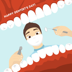 World dentist day.