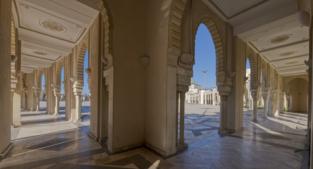 Moschee Hassan II Casablanca  Panorama