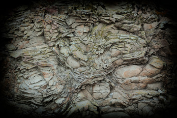 natural rock in the form of a background