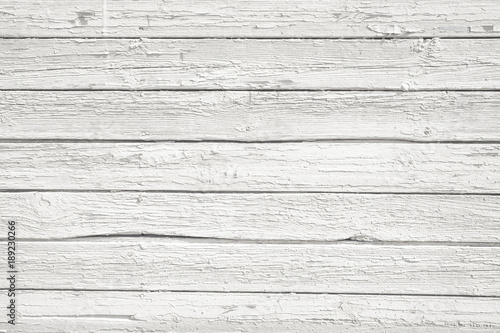 White wood plank texture background  White rustic texture