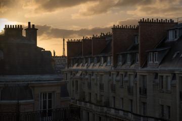 paris tour eiffel immeuble habiter se loger logement appartement immeuble france capitale