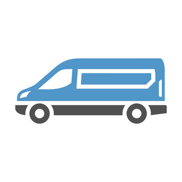 vehicle flat icon