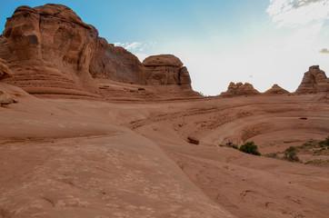 natural amphitheatre near Delicate Arch Arches National Park, Moab, Utah