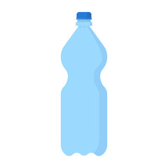 Big plastic bottle with mineral water