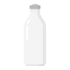 Glass bottle for milk