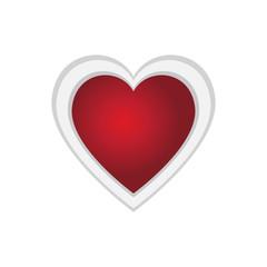 Heart shape valentine day