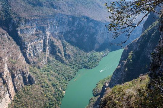 Canyon du Sumidero, Chiapas, Mexique