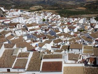 Castillo de Olvera, pueblo de la provincia de Cádiz, en la comunidad autónoma de Andalucía (España) incluido en la comarca de la Sierra de Cádiz, y dentro del partido judicial de Arcos de la Frontera