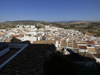 Olvera, pueblo de la provincia de Cádiz, en la comunidad autónoma de Andalucía (España) incluido en la comarca de la Sierra de Cádiz, y dentro del partido judicial de Arcos de la Frontera