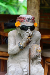Smoker sculpture