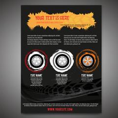 Automotive Tire Leaflet