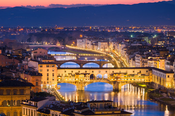 Skyline of Florence, Italy