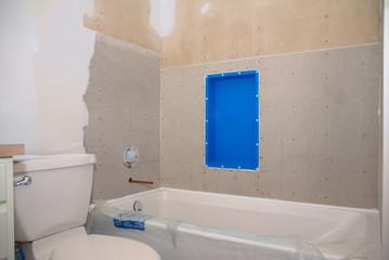 Bathroom Remodel Ready for Tile