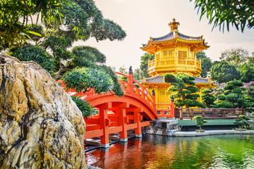 Nan Lian Garden. It is a Chinese Classical Garden in Diamond Hill, Kowloon, Hong Kong.