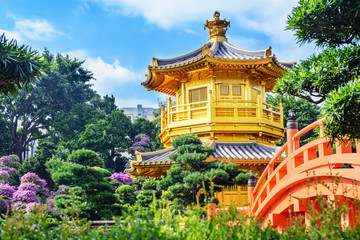 Nan Lian Garden. It is a Chinese Classical Garden in Diamond Hill, Kowloon, Hong Kong.