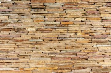 Sandstone brick wall texture background design