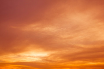 colorful sky at sunset or sunrise background