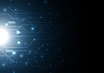 technology future modern circuit