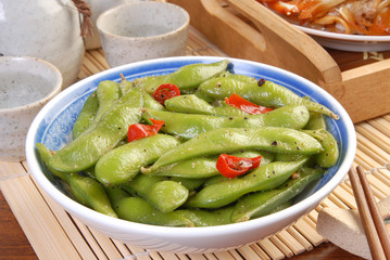 Side dish - Cold young soybean