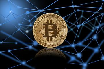 ビットコインとブロックチェーンイメージ