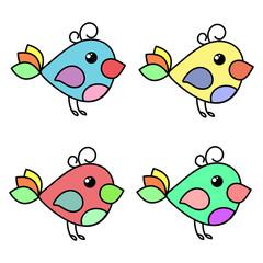 Birdie social network symbol