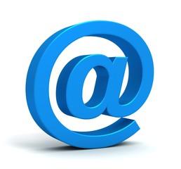 e mail and envelope concept 3d illustration