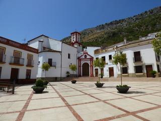 Benaojan, pueblo de Málaga, Andalucía (España) localizado dentro del Parque Natural de Grazalema