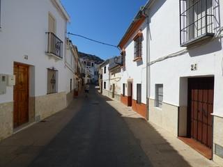 Cañete la Real, pueblo de Malaga, Andalucia (España) de la comarca del Guadalteba