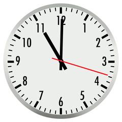 horloge 11h