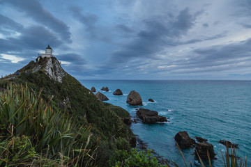 Nugget Point Lighthouse, South Island New Zealand