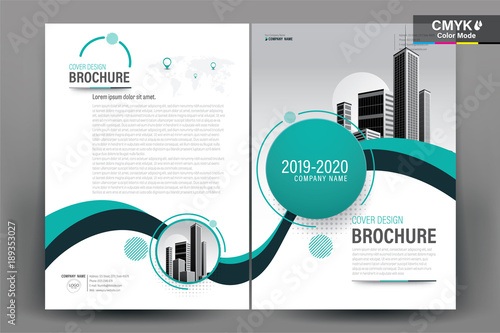 Business Book Cover Template ~ Quot modern business flyers brochure annual report design