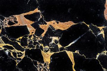 luxury golden black marble texture pattern background