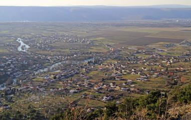 A view of Blagaj surroundings