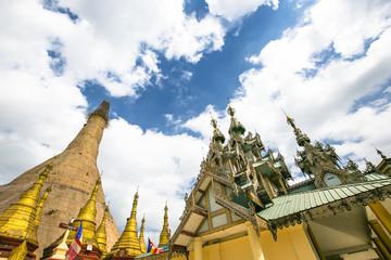 Yelena Paya pagoda, Pagoda on a small island (Syriam, Myanmar)