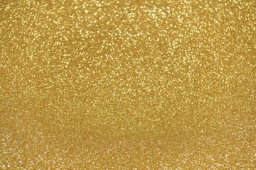 defocused abstract gold lights background