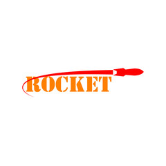 Rocket Vector Template Design