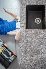 drain repair photos royalty free images graphics vectors videos adobe stock. Black Bedroom Furniture Sets. Home Design Ideas