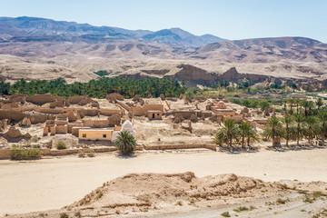 Tamaqzah settlement in Tamerza, Tozeur, Tunisia