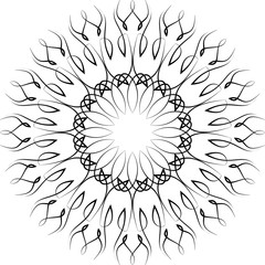 Pinstripe M_1609004 Circular