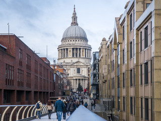 London - St Paul Cathedral in united Kingdom, UK.