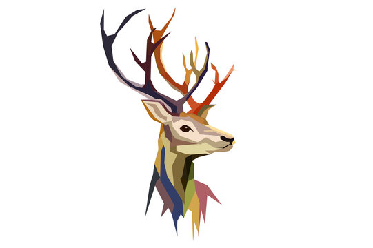Low Poly deer