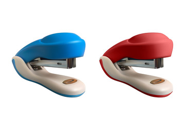 Set of 2 staplers. Realistic vector illustration